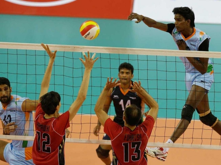 Volleyball India Asian Games