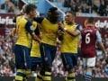 EPL: Danny Welbeck on Target as Arsenal F.C. Thrash Aston Villa 3-0
