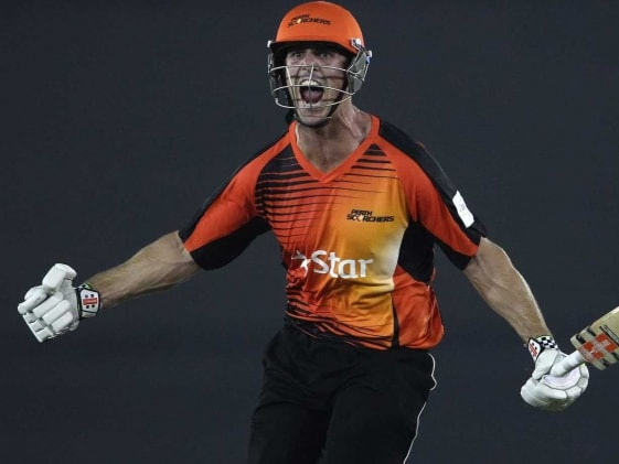 CLT20: Mitchell Marsh Hits Consecutive Sixes to Give Perth Scorchers a Win Off the Last Ball