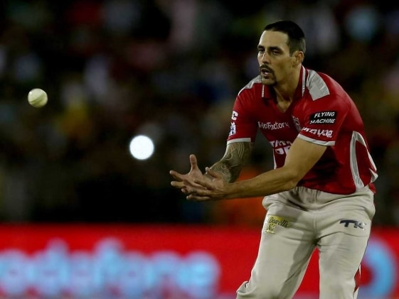 Kings XI Punjab to Miss Mitchell Johnson Indefinitely