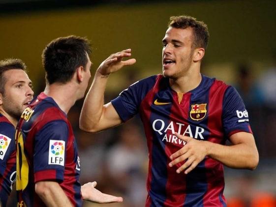 Debutant Sandro Ramirez Hands FC Barcelona Win at Villarreal