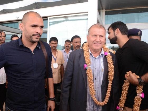 Brazilian Legend Zico Arrives in Goa for Indian Super League