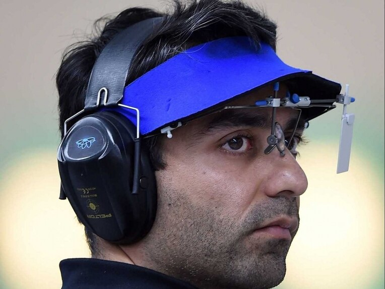 Abhinav Bindra shooting bronze