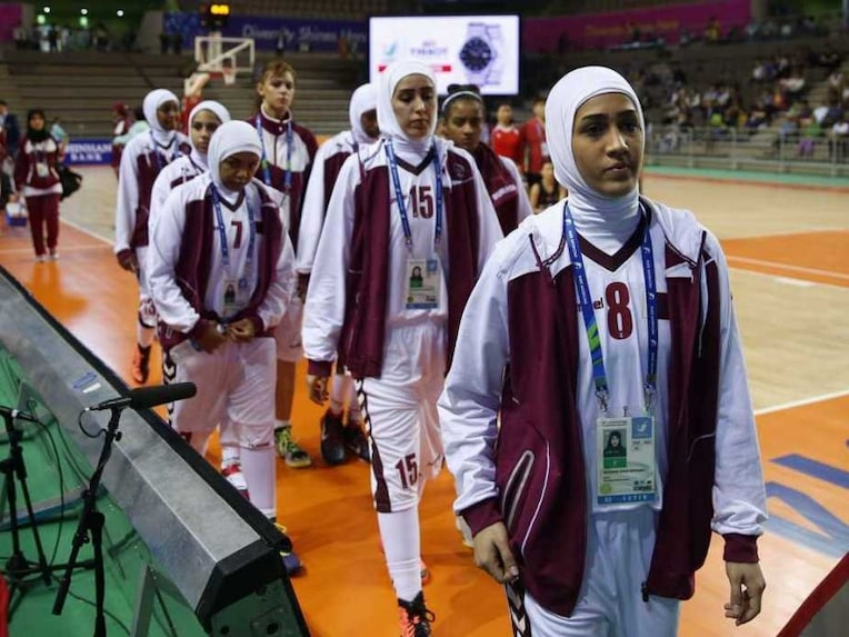 Asian Games Qatar Basketball Hijab