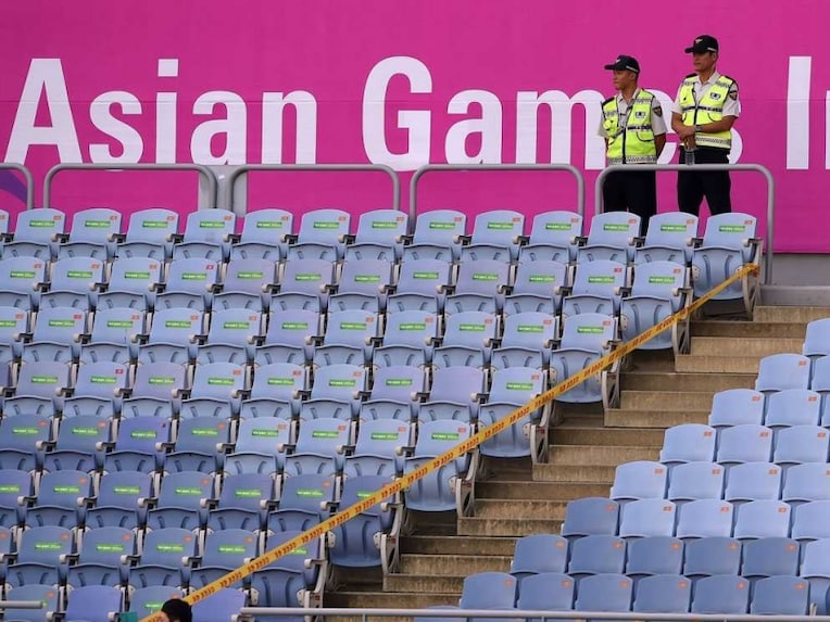 Asian Games stands