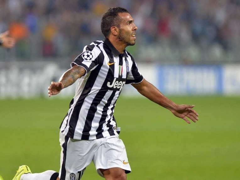 Carlos Tevez Juventus 7