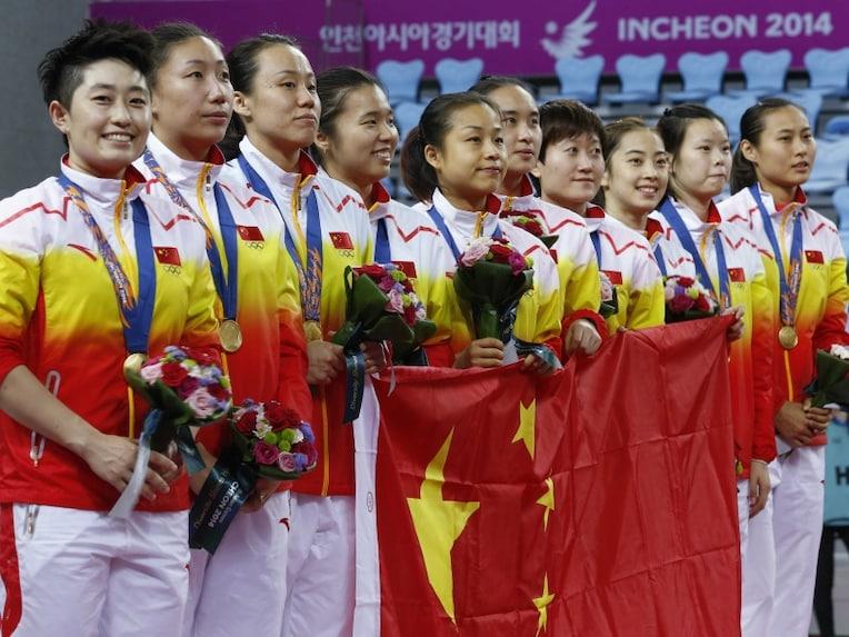 China Women Badminton Team