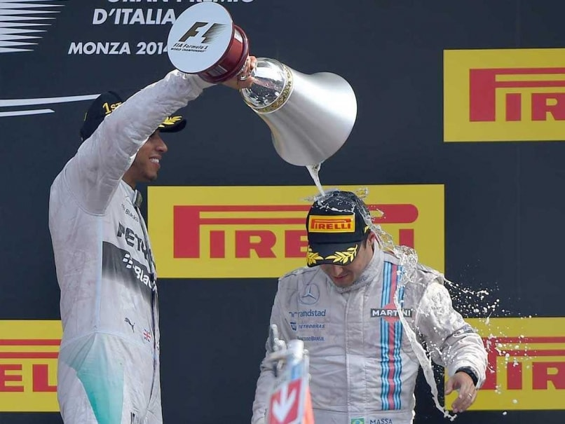 Felipe Massa podium