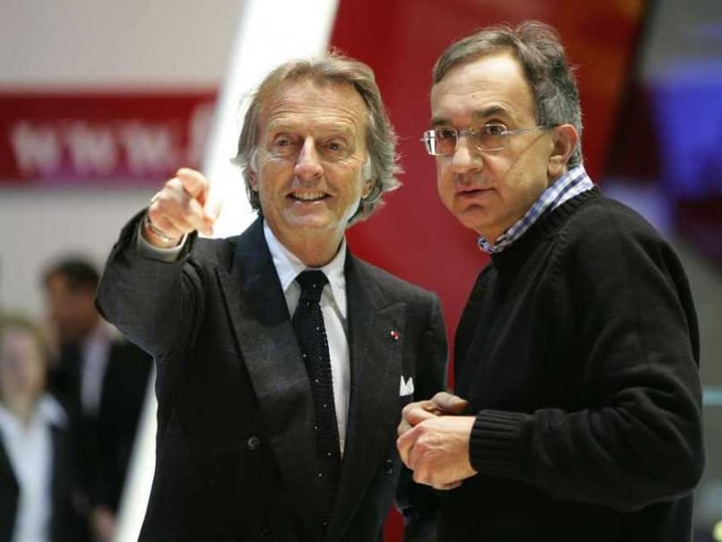 Ferrari Montezemolo Marchionne President