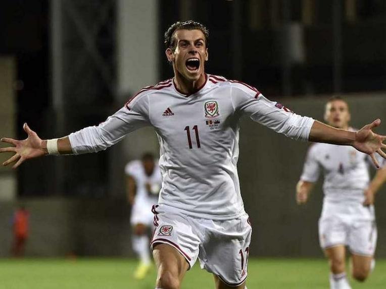 Gareth Bale Wales Andorra