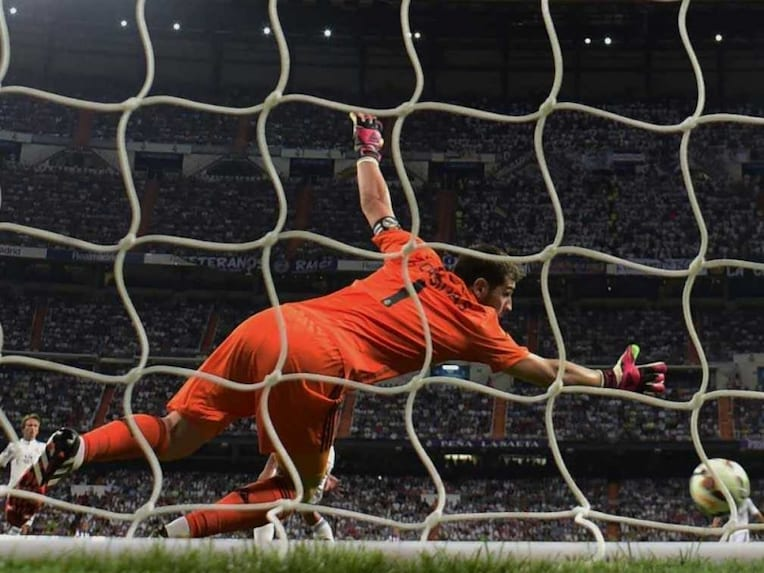 Iker Casillas goal