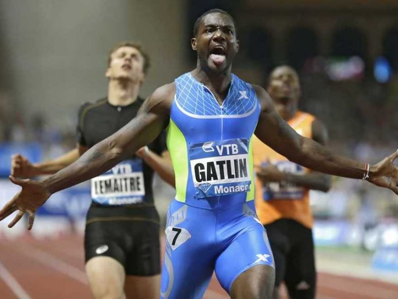 Justin Gatlin Overcomes Tyson Gay, Asafa Powell To Win Gold in 100 Metres