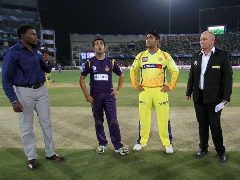 Live Cricket Score: Chennai Super Kings vs Kolkata Knight Riders, Final