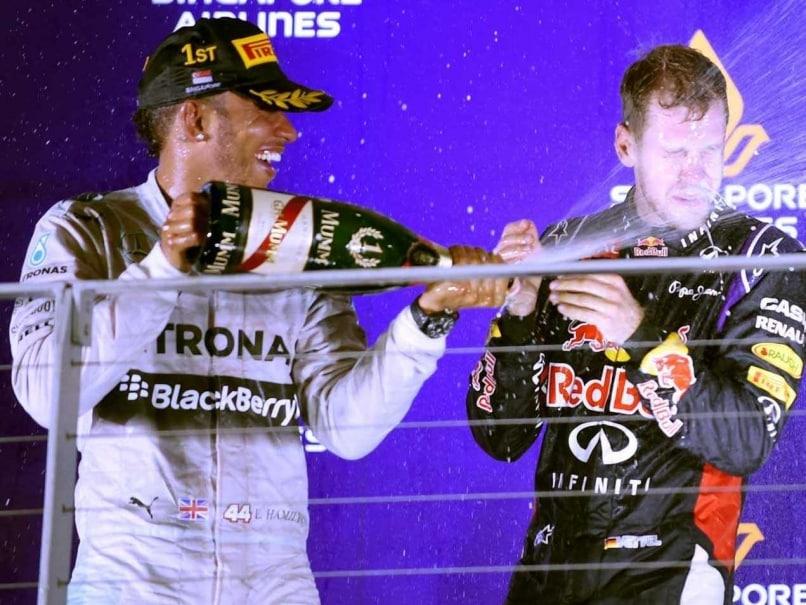 Lewis Hamilton Singapore F1