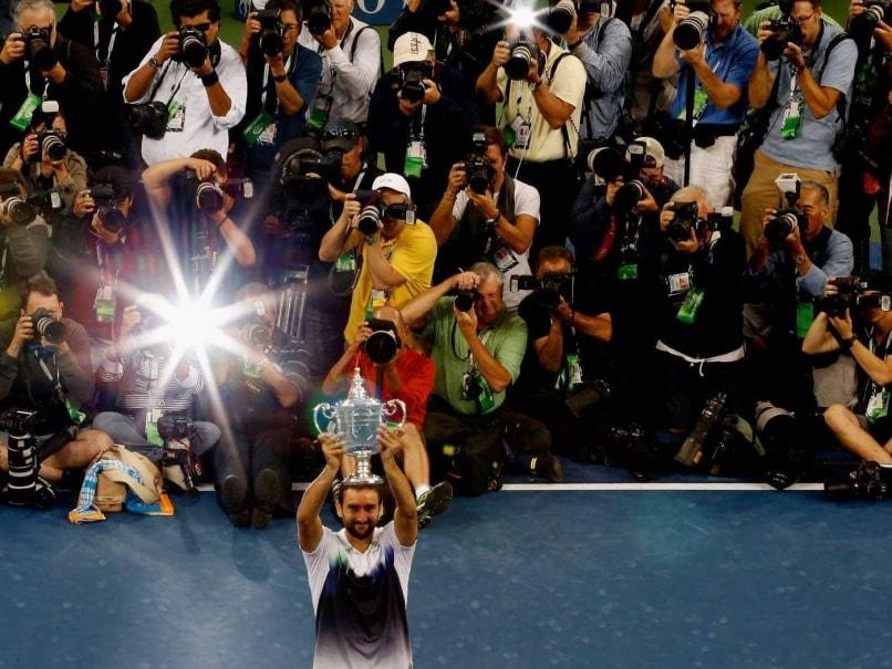 Marin Cilic trophy
