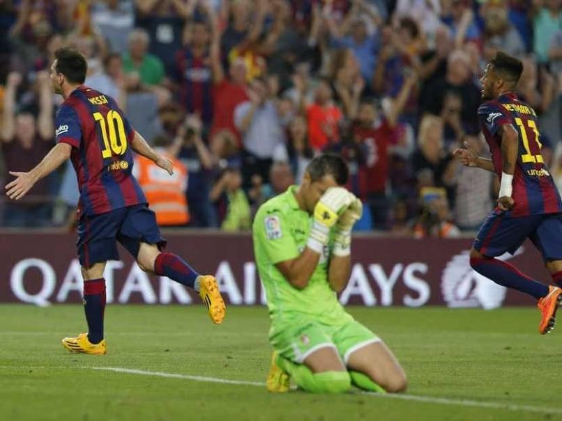 Messi Goal With Neymar
