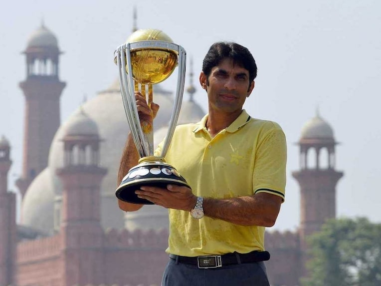 Misbah World Cup trophy