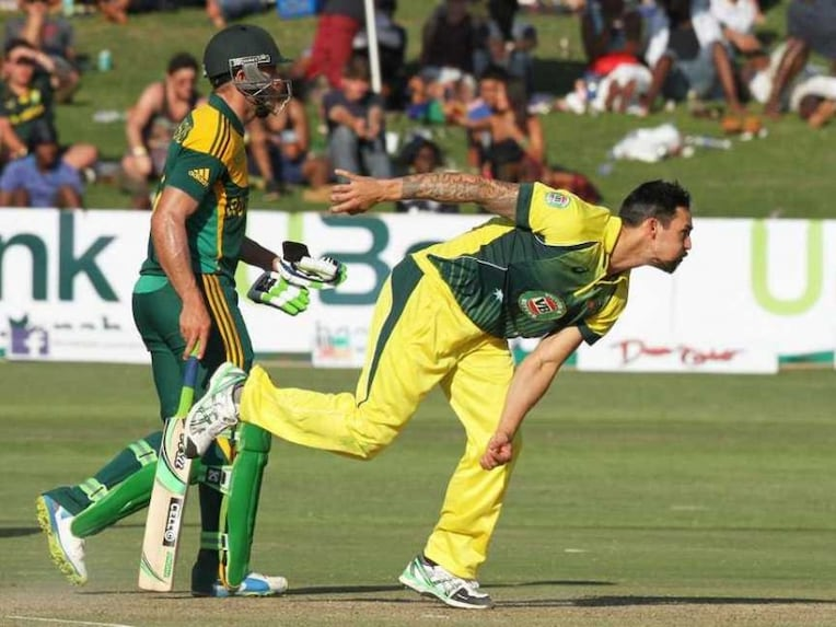 Mitchell Johnson Fearsome