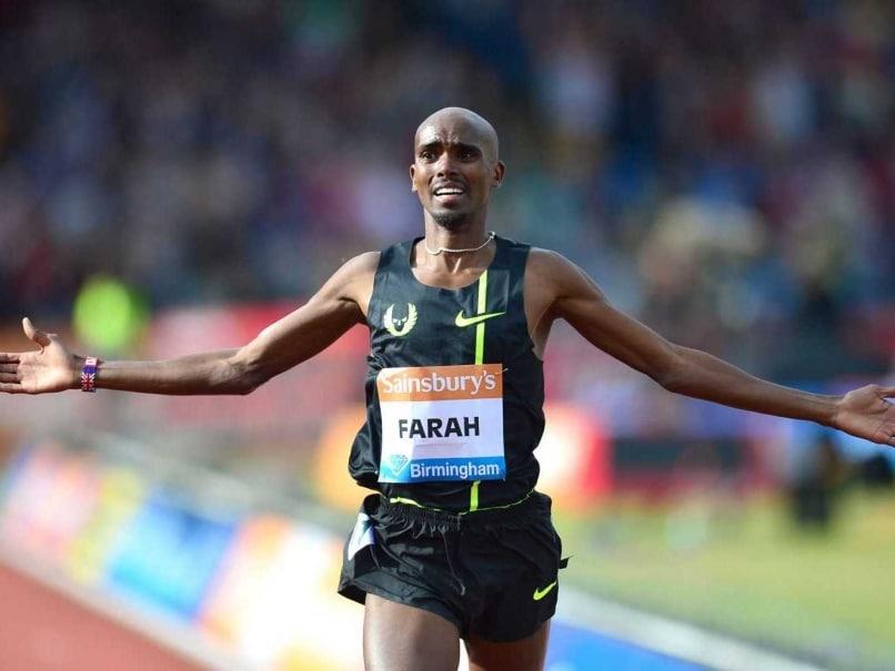 Mo Farah sprinter