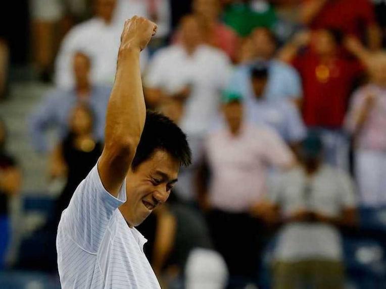 Nishikori US Open Semis