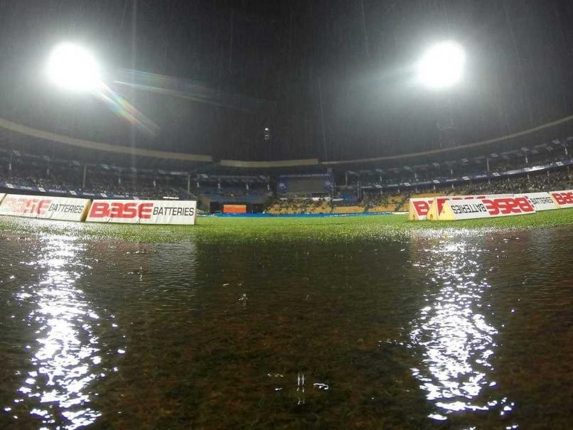 Rain cricket stadium