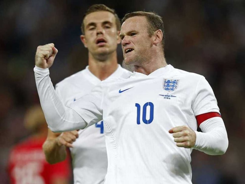 Rooney England Norway