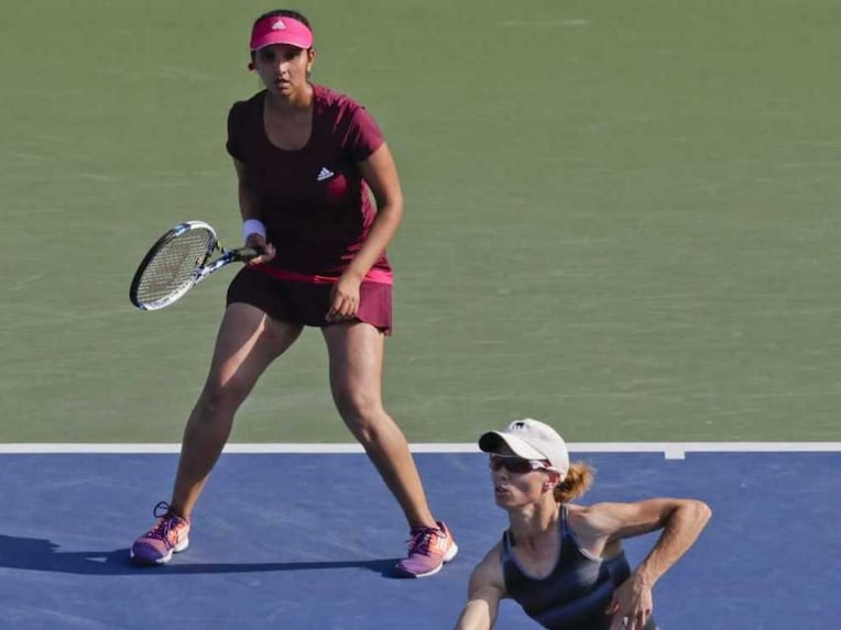 Sania Mirza Cara Black US Open