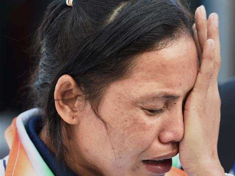 A file pic of Sarita Devi.