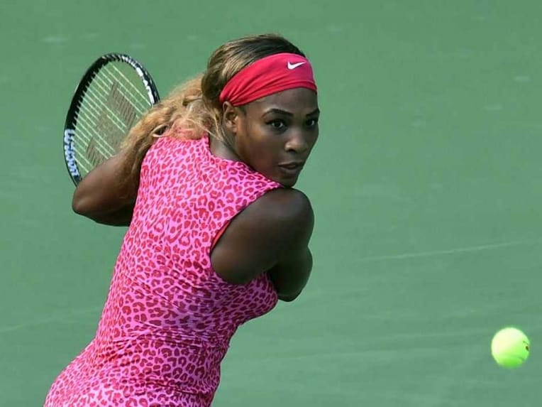 Serena Williams in Action US Open