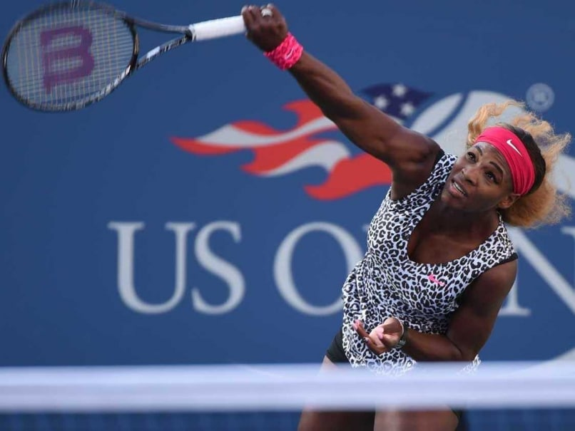 Serena Williams US Open final 2014