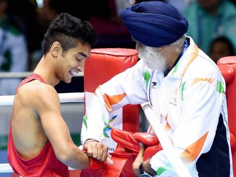 Shiva Thapa Boxing