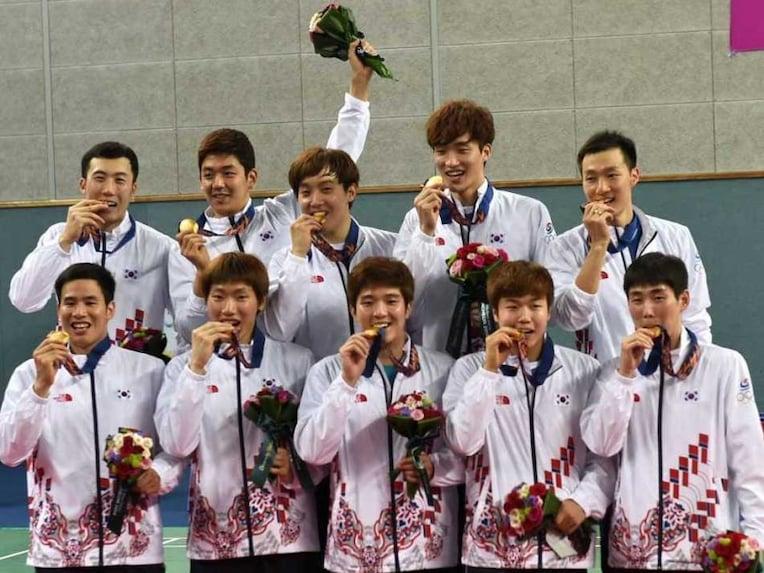 South Korea Gold Badminton