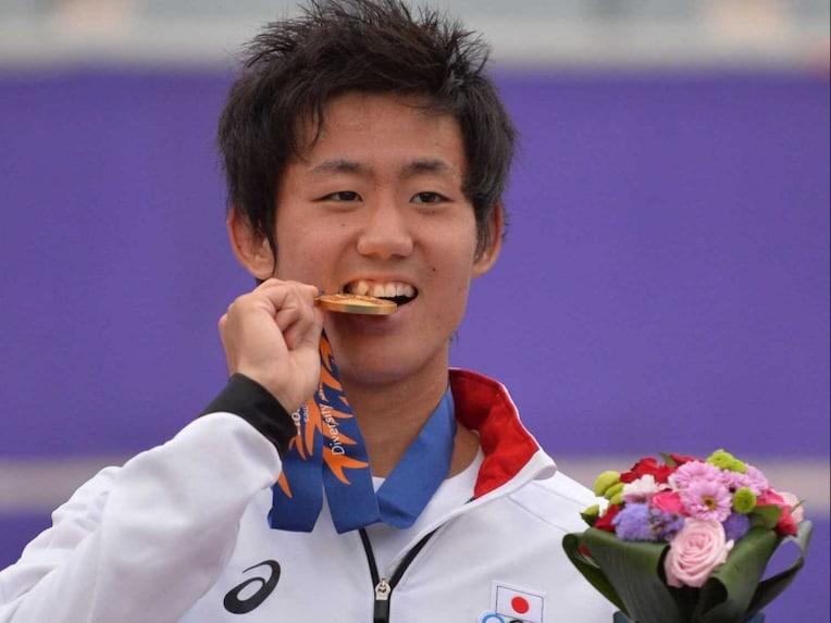 Yoshihito Nishioka Asian Games