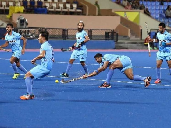 Indian Hockey Team Lose to Spain in Practice Game