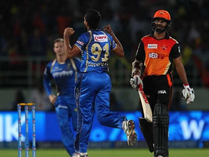 Dhawan Dhawal IPL 2015