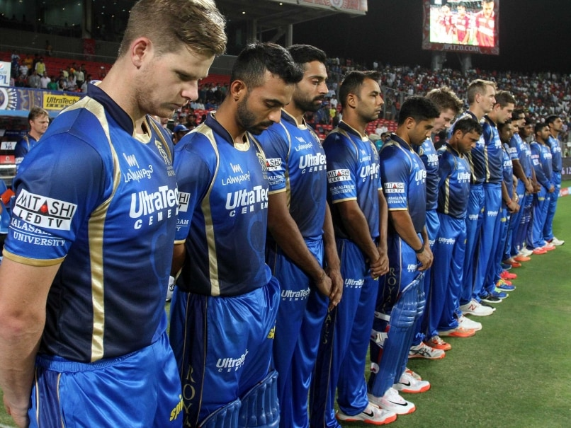 Royals Players Wallpaper Rajasthan Royals Players Stand