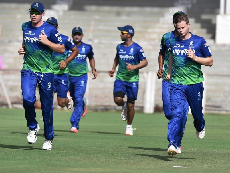 Rajasthan Royals training pix
