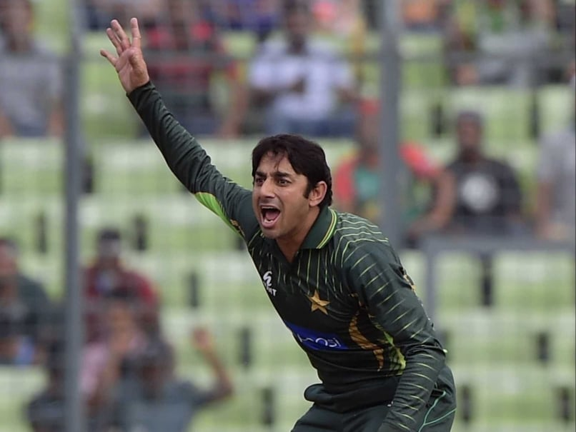 Saeed Ajmal claims takes his first wicket on return to international cricket