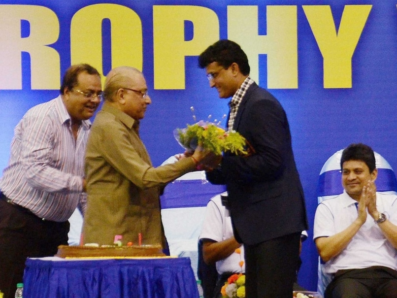 Sourav Ganguly Rates Ranji Trophy Title Win on Debut as Best Moment of his Career