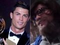 Cristiano Ronaldo Disguises as 'Homeless Man', Tricks Madrid Locals