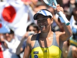 Age no Obstacle as Date-Krumm Stuns Lisicki at Stanford WTA