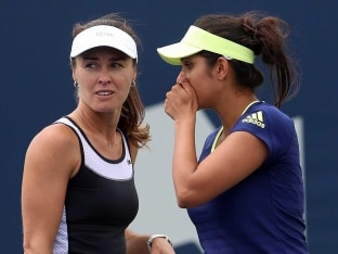 Sania Mirza Splits With Doubles Partner Martina Hingis