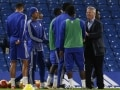 Guus Hiddink Brings Chelsea F.C Good Luck From the Stands