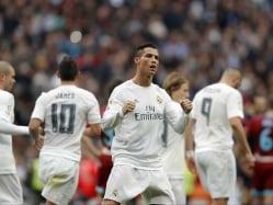 Cristiano Ronaldo Double Saves Rafael Benitez, Takes Real Madrid to Top