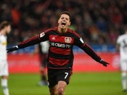 Hernandez Hat-Trick Helps Leverkusen Rout Borussia Moechengladbach