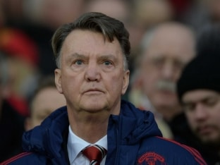 Manchester United Manager Louis van Gaal Upbeat on Future Despite Boos From Fans
