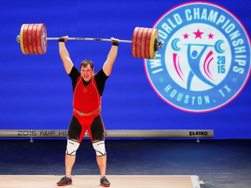 International Weightlifting Federation Suspends World Champion Aleksei Lovchev