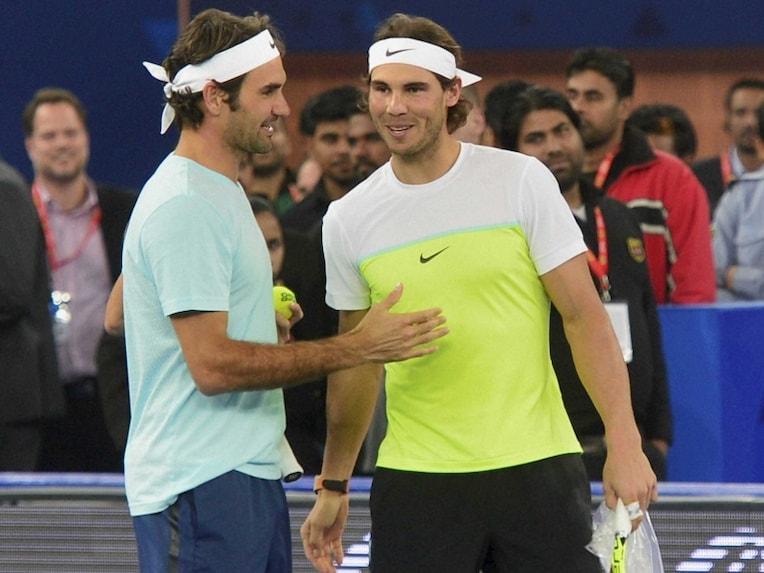 Rafael Nadal Roger Federer IPTL