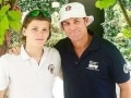 Shane Warne's Son Claims a Hat-Trick