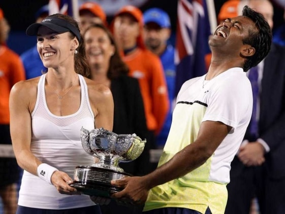 Treat to Play With Hingis, Says Paes After Third Aus Open Win